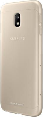 Чехол Samsung EF-AJ330TFEGRU для Samsung Galaxy J3 2017 Jelly Cover золотистый чехол samsung jelly cover j3 2017 gold