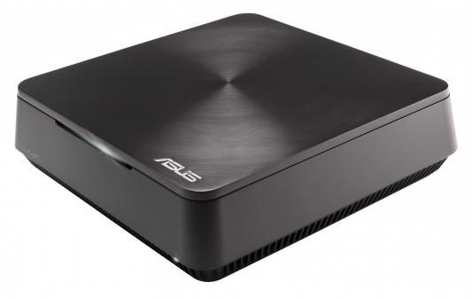 Неттоп Asus VivoPC VM60-G155M slim i3 3217U/4Gb/500Gb/HDG4000/CR/Free DOS/GbitEth/WiFi/BT/65W/серебристый 90MS0061-M01550