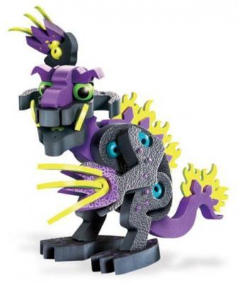 Купить Мягкий конструктор Soft Blocks Огненный дракон 79 элементов, Мягкие конструкторы для детей