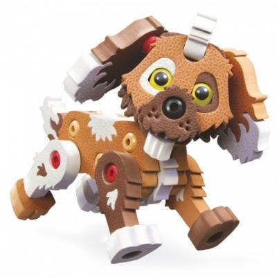 Купить Мягкий конструктор Soft Blocks Дружок 62 элемента, Мягкие конструкторы для детей