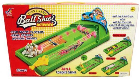 Настольная игра Shantou Gepai спортивная Меткие шары 631223 настольная игра спортивная shantou gepai боулинг 5777 23a