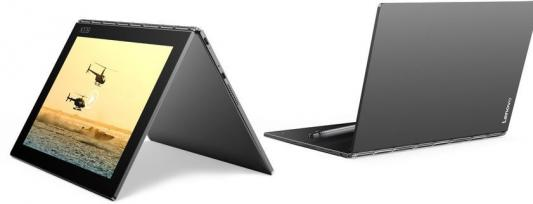 Планшет Lenovo Yoga Book YB1-X90F 10.1 64Gb Grey Wi-Fi Bluetooth Android ZA0V0062RU планшет планшет lenovo tab 4 tb 7504x za380087ru mediatek mt8735b 1 3 ghz 2048mb 16gb gps 3g lte wi fi bluetooth cam 7 0 1280x720 android