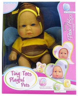 Купить Пупс Shantou Gepai Пчелка 22 см, пластик, текстиль, Классические куклы и пупсы