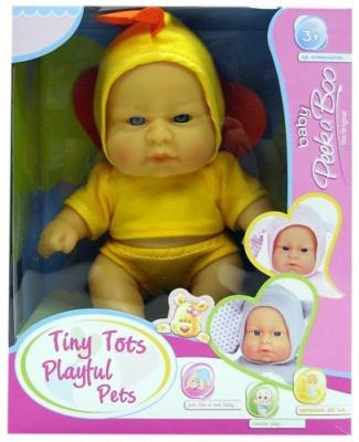 Купить Пупс Shantou Gepai Птенчик 22 см, пластик, текстиль, Классические куклы и пупсы