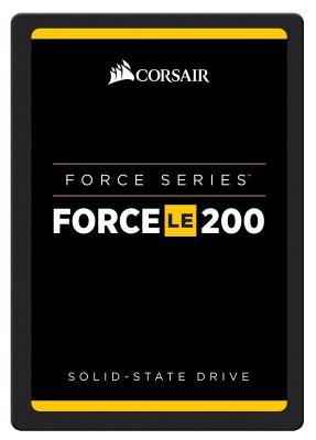 Твердотельный накопитель SSD 2.5 240GB Corsair Force Read 560Mb/s Write 530Mb/s SATAIII CSSD-F240GBLE200B твердотельный накопитель ssd m 2 64gb transcend mts400 read 560mb s write 160mb s sataiii ts64gmts400