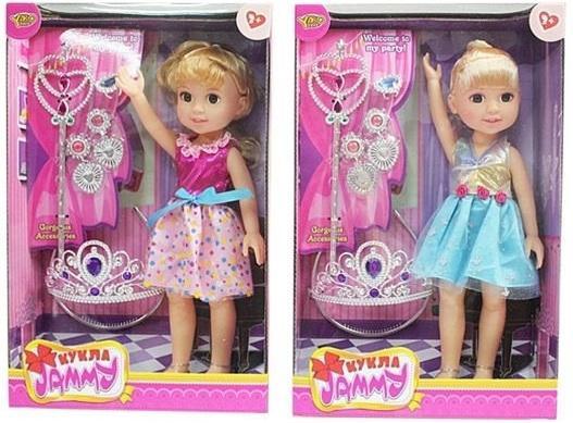 Кукла Shantou Gepai Джемми Красотка 32 см в ассортименте кукла shantou gepai лиза с аксессуарами 32 см в ассортименте