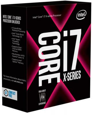 Процессор Intel Core i7-7800X 3.5GHz 8Mb Socket 2066 BOX без кулера