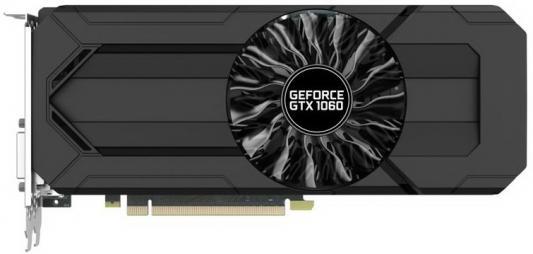 Видеокарта 3072Mb Palit GeForce GTX1060 Stormx 3G PCI-E 192bit GDDR5 DVI HDMI DP HDCP OEM NE51060015F9-1061F