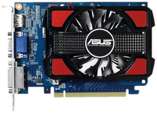 Видеокарта 2048Mb ASUS GeForce GT730 PCI-E 128bit DDR3 DVI HDMI CRT HDCP GT730-2GD3-V2 Retail