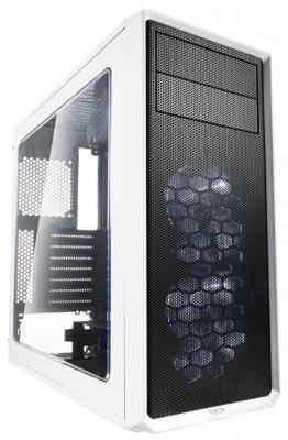 Корпус ATX Fractal Focus G Без БП белый FD-CA-FOCUS-WT-W корпус fractal design focus g black fd ca focus bk w