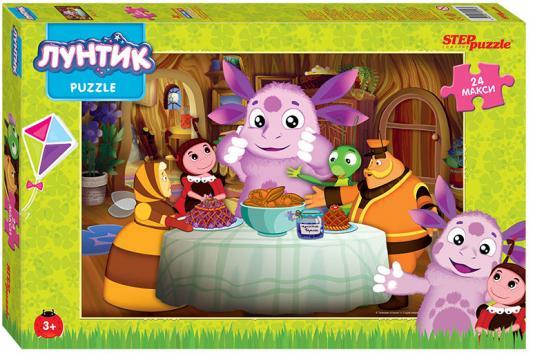 Пазл Step Puzzle Лунтик 90018 24 элемента пазл step puzzle развивающие паззлы союзмультфильм путешествие в мир добра в асс 76064