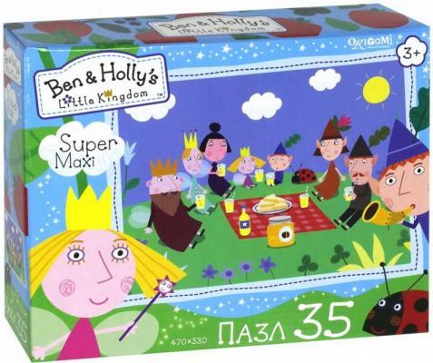 Пазл ОРИГАМИ Бен и Холли Пикник 35 элементов origami бен и холли мозаика яркое лето холли