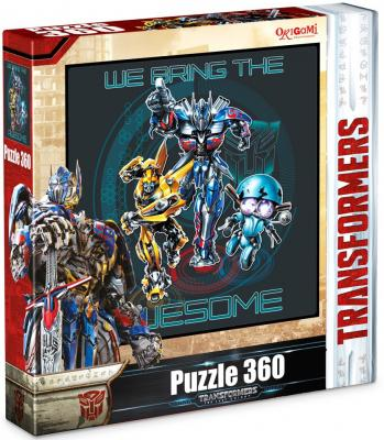 Пазл ОРИГАМИ 360А Transformers 360 элементов пазл оригами арт терапия кошка 360 элементов