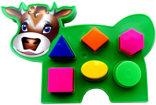 Купить Сортер Игрушки Вашего Детства Коровка 2С466 в ассортименте, Сортеры и шнуровки