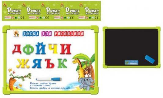 Двусторонняя доска для рисования Shantou Gepai G9114-3 с магнитами двусторонняя доска для рисования play smart доска знаний a553 h27027