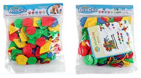 "Шнуровка Shantou Gepai ""Funny Blocks"""