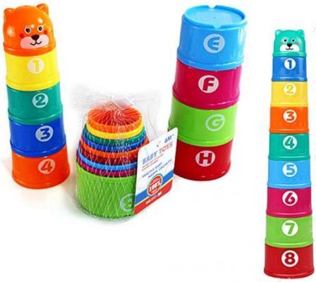 Пирамида Shantou Gepai Baby Toys 38 см 9 элементов в ассортименте