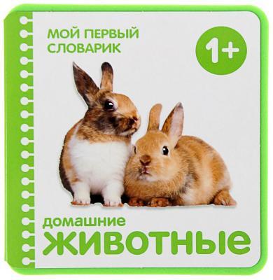 Развивающие книжки Мозаика-Синтез Мой первый словарик Домашние животные первые книги малыша мозаика синтез мой первый словарик животные