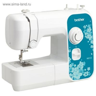 Швейная машина Brother HQ-12 белый/рисунок от 123.ru