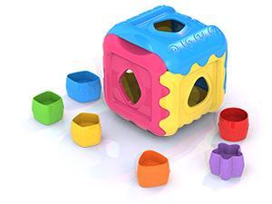 Купить Сортер Нордпласт Кубик 784 в ассортименте, Сортеры и шнуровки