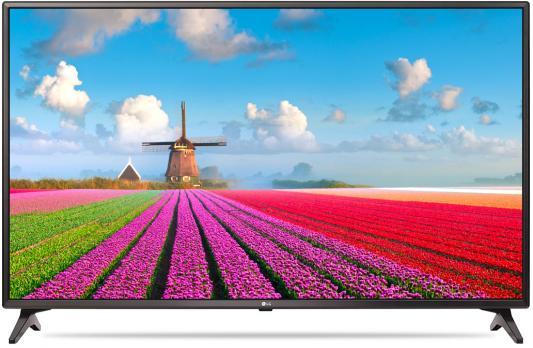 Телевизор LG 43LJ610V черный