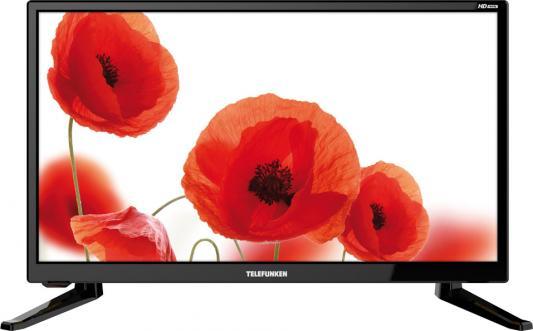 Телевизор Telefunken TF-LED19S64T2 черный телевизор telefunken tf led32s65t2 черный