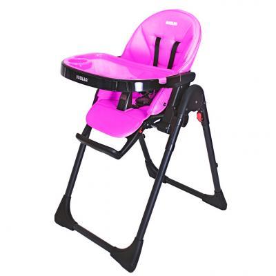 Стульчик для кормпления Ivolia Hope (2 колеса/pink)