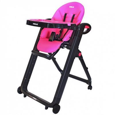 Стульчик для кормпления Ivolia Love 02 (4 колеса/pink)