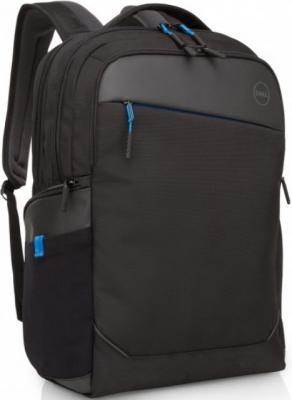 Рюкзак для ноутбука 17 DELL Professional 460-BCFG синтетика черный сумка для ноутбука 15 dell professional черный 460 bcfj