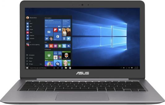 """Ноутбук Asus Zenbook UX310UA-FC647T Core i3 7100U/4Gb/1Tb/Intel HD Graphics 520/13""""/FHD (1920x1080)/Windows 10/grey/WiFi/BT/Cam"""