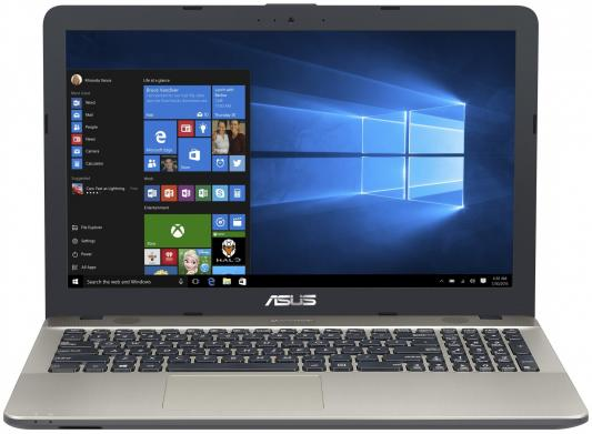 "Ноутбук Asus X541NC-GQ081T Pentium N4200/4Gb/500Gb/nVidia GeForce 810M 2Gb/15.6""/HD (1366x768)/Windows 10/black/WiFi/BT/Cam 90NBOE91-MO1030"