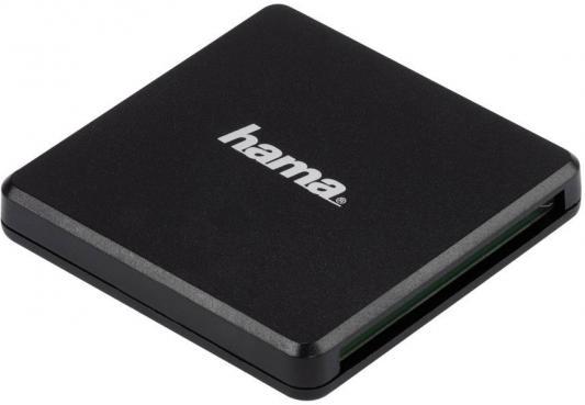 Картридер внешний Hama Multi H-124022 USB3.0 черный 00124022