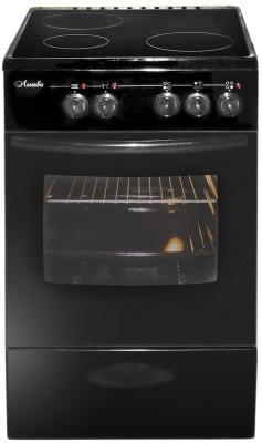 Электрическая плита Лысьва ЭПС 301 МС черный электроплита лысьва эпс 411 мс чёрная
