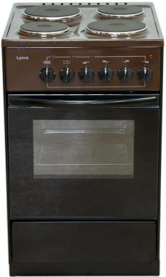 Электрическая плита Лысьва ЭП 411 коричневый цена и фото