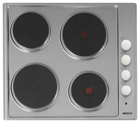 Варочная панель электрическая Beko HIZE 64101 X серебристый