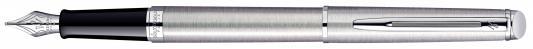 Перьевая ручка Waterman Stainless Steel CT синий F WAT-S0920410
