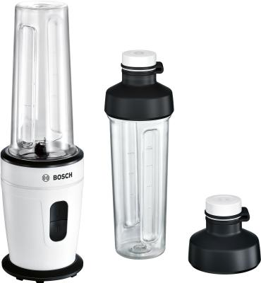 Блендер стационарный Bosch MMBM401W 350Вт белый чёрный блендер стационарный moulinex lm130110 350вт чёрный белый