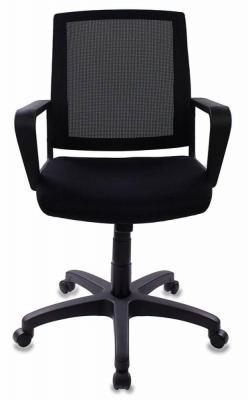 Кресло Бюрократ CH-498/BL/TW-11 черный