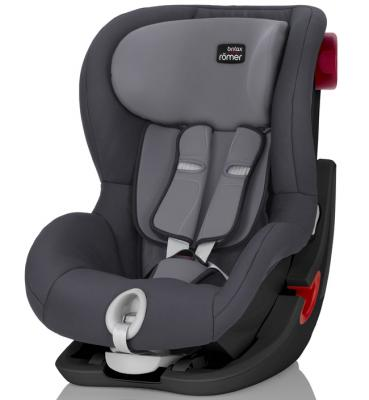 Автокресло Britax Romer King II Black Series (storm grey trendline)