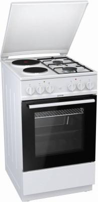 Комбинированная плита Gorenje K5111WG белый