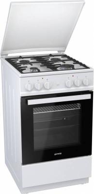Комбинированная плита Gorenje KN5142WF-B белый