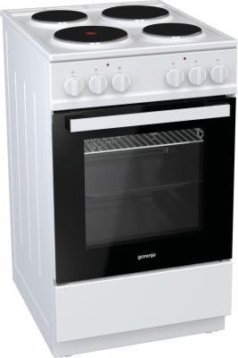 Электрическая плита Gorenje E5121WH-B белый электрическая плита gorenje ec5341wc белый