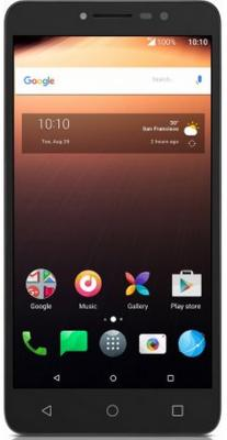 Смартфон Alcatel A3 XL 9008D серый серебристый 6 8 Гб LTE Wi-Fi GPS 3G 9008D-2AALRU1 смартфон alcatel pop 4 6 7070 графит 7070x 2aalru1