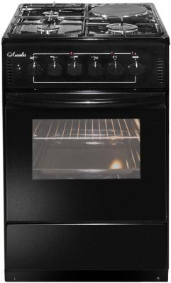 Комбинированная плита Лысьва ЭГ 1/3г01-2у черный газовая плита лысьва эг 1 3г01 мс 2у электрическая духовка черный