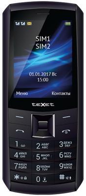 Мобильный телефон Texet TM-D328 черный мобильный телефон texet tm 501 черный