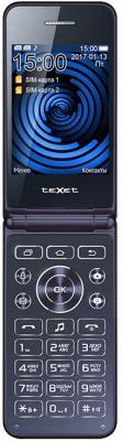 TEXET TM-400 Мобильный телефон цвет синий texet dvr 580fhd