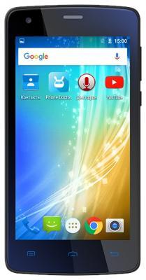"Смартфон Texet TM-4510 черный 4.5"" 8 Гб LTE Wi-Fi GPS 3G"