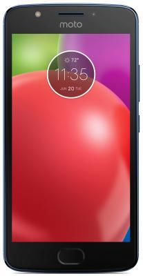 Смартфон Motorola Moto E синий 5 16 Гб LTE Wi-Fi GPS 3G XT1762  PA750050RU смартфон meizu m5 note серебристый 5 5 32 гб lte wi fi gps 3g