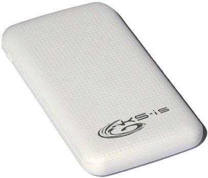 Портативное зарядное устройство KS-is KS-326 10000мАч белый
