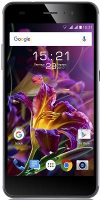 Смартфон Fly FS518 Cirrus 13 синий 5 16 Гб LTE Wi-Fi GPS 3G смартфон huawei y5 2018 prime синий 5 16 гб lte wi fi gps 3g dra lx2